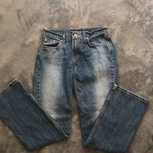 Vintage Express 100% Cotton Jeans Size 3/4